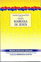 Santa Mariana de Jesús by Aurelio Espinoza…