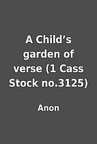 A Child's garden of verse (1 Cass Stock…