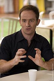 Author photo. Conférence avec Mathias Malzieu, lors du festival Aux Zarbs 2008