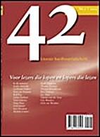 42: Literair hardlooptijdschrift Nr. 2 2005…