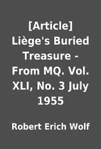 [Article] Liège's Buried Treasure - From…