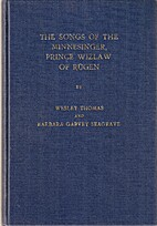 The Songs of the Minnesinger, Prince Wizlaw…