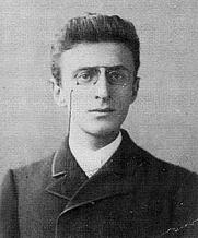 Author photo. Eduard Norden (1868–1941), deutscher Altertumswissenschaftler. Aufnahme aus dem Berliner Studienjahr (1888) des Bonner Studenten.