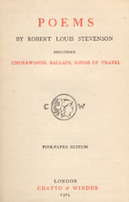 Poems of Robert Louis Stevenson by Robert…