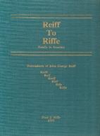 Reiff to Riffe family in America:…