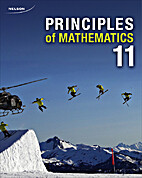 Principles of Mathematics 11 by Cathy…