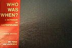 Who Was When?: A Dictionary of…