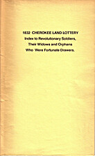 The Cherokee land lottery: Containing a…