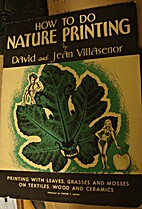 How to do nature printing : Printing with…