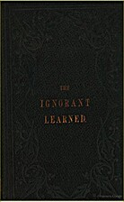 Ignorant Learned Or Researches After The…