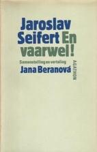 En vaarwel ! by Jaroslav Seifert