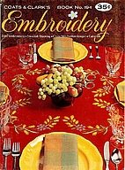 Embroidery Book No. 194 by Coats & Clark