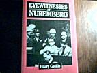 Eyewitnesses at Nuremberg by Hilary Gaskin