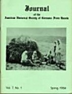 Journal of the American Historical Society…