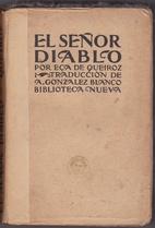 El señor diablo by Eça de Queirós