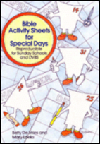 Bible Activity Sheets for Special Days by…
