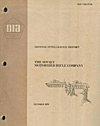 Defense Intelligence Report: The Soviet…