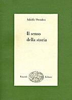 Il senso della storia by Adolfo Omodeo