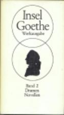 Werke. Bd. 2. Dramen - Novellen by Johann…