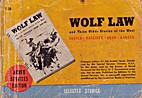 Wolf Law and Three Other Stories of the West…