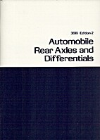 Automobile Rear Axles and Differentials by…