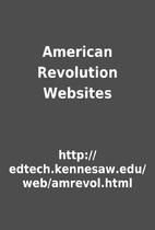 American Revolution Websites by…
