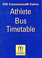 Athlete Bus Timetable XVII Commonwealth…