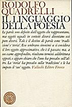 Il linguaggio della poesia by Rodolfo…