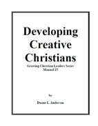 Developing Creative Christians by Duane L.…