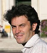 Author photo. Baccalario, Pierdomenico