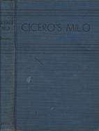 Cicero's Milo: A Rhetorical Commentary 📚…