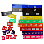 Overhead Decimal Tiles Set of 51 by EAI…