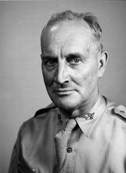 Author photo. Major Harry A. Franck in his mid-60s (1944-45), around the time he was writing <i>Winter Journey through the Ninth</i>.