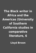 The Black writer in Africa and the Americas…