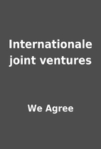 Internationale joint ventures by We Agree