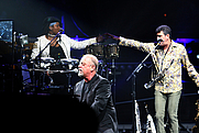 Author photo. Billy Joel (at piano).  Craig O'Neal.  Feb. 7, 2007