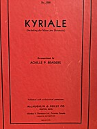 Kyriale by Achille P. Bragers