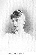 Author photo. Martha R. Field [aka Catharine Cole] (1855-1898) Buffalo Electrotype and Engraving Co., Buffalo, N.Y.