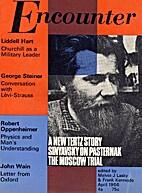 Encounter, vol. XXVI, 4, April 1966