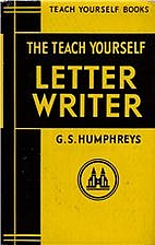 Letter Writer (Teach Yourself) by Gordon S.…