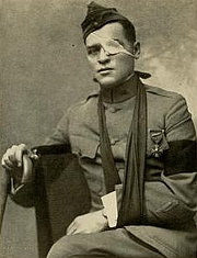 "Author photo. Image from <b><i>""And they thought we wouldn't fight.""</i></b> (1918) by Floyd Phillips Gibbons"