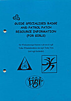 Guide specialised badge and patrol patch…