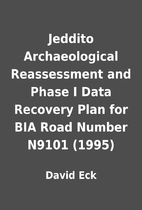Jeddito Archaeological Reassessment and…