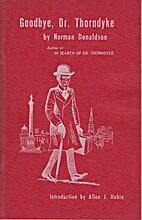 Goodbye, Dr. Thorndyke by Norman Donaldson