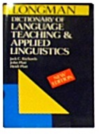 Longman Dictionary of Language Teaching and…