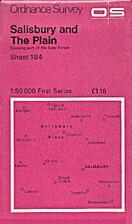 Landranger Map 184: Salisbury & The Plain by…