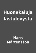 Huonekaluja lastulevystä by Hans…