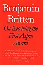 On Receiving the First Aspen Award: A Speech…