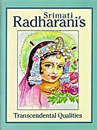 Srimati Radharani's Transcendental Qualities…