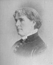 Author photo. Frances Laughton Mace (b.1836), Buffalo Electrotype and Engraving Co., Buffalo, N.Y.